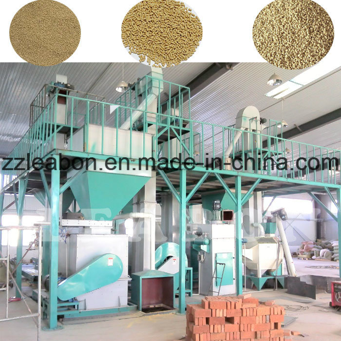 Professional Design Straw Feed Pellet Production Line