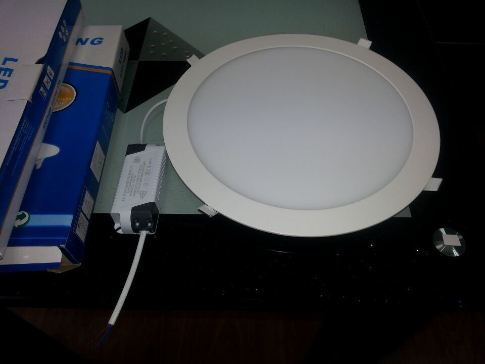 24W LED Ceiling Light, Round LED Ceiling Panel Lamp for Kitchen