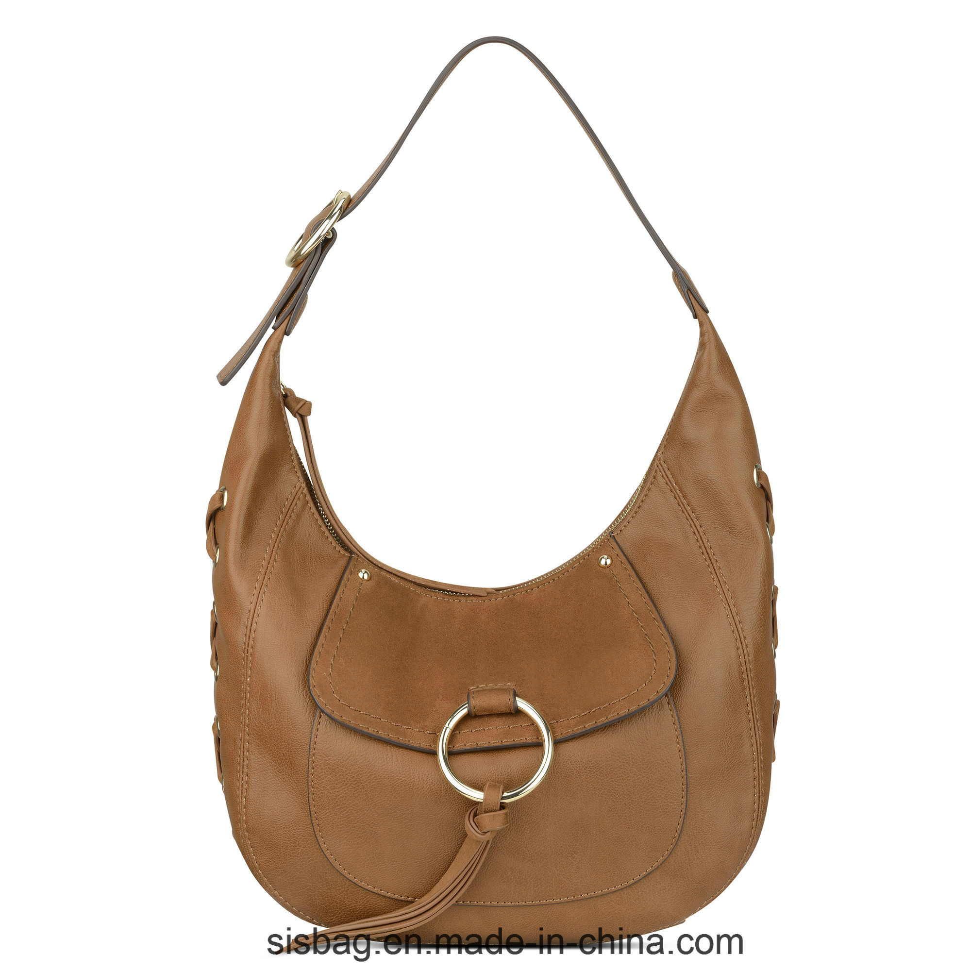 New Designer Metal Ring Ladieshobo Bag