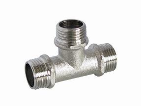 Chrome-Plated Tee F/F/F Pex-Al-Pex Pipe or Gas Water Pipe Fittings