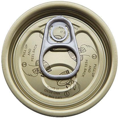 211# Tin Easy Open End