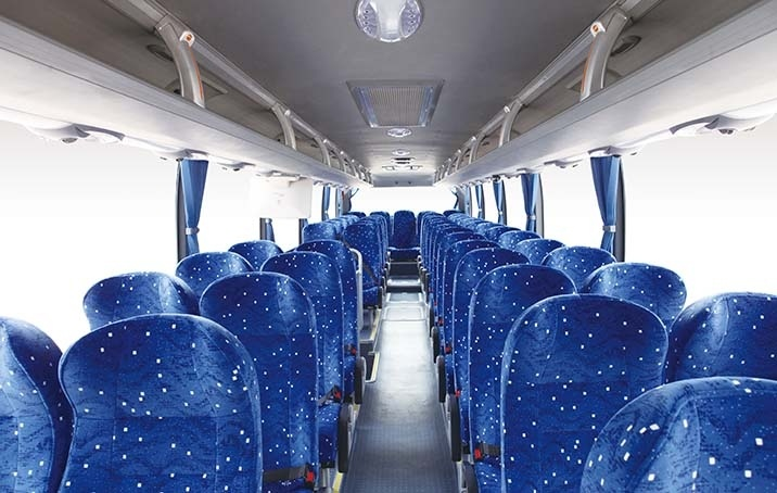 11-12m Coach Single Deck 51+1+1seats