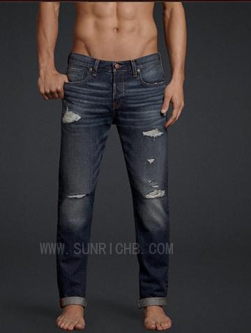 Men′s Cotton Denim Jeans Pants (J04014)
