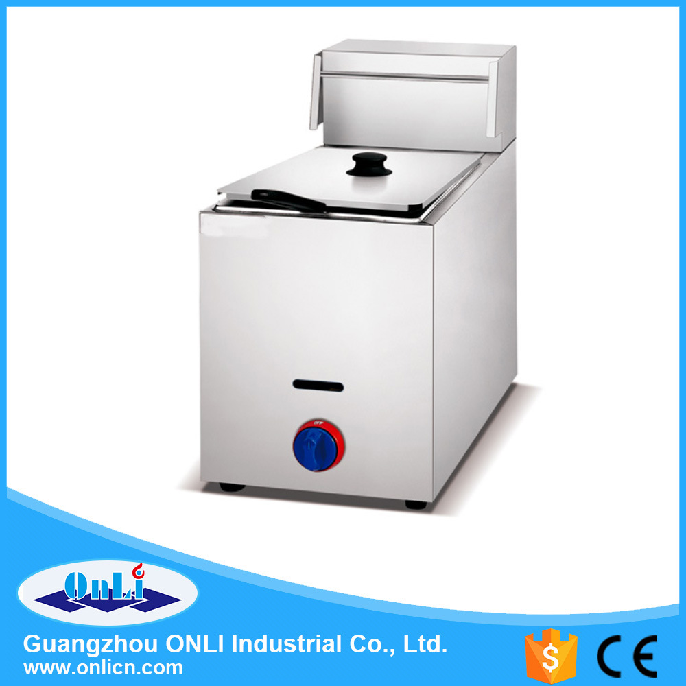 Gas 1-Tank Fryer