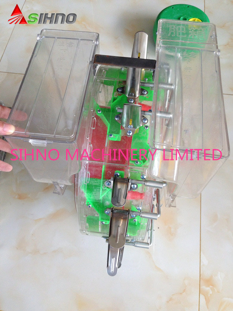 New Seeder and Fertilizer in One Machine Manual Seeder for Corn