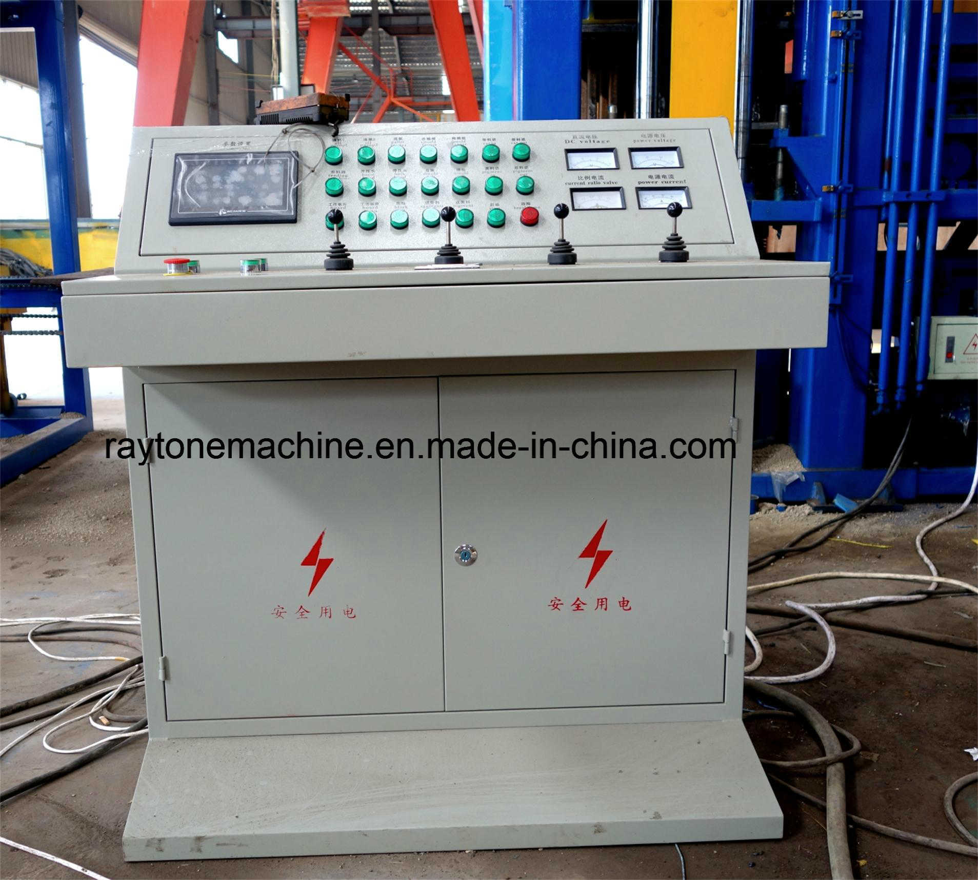 Qt4-15c Fully Automatic Hollow Block Making Machine