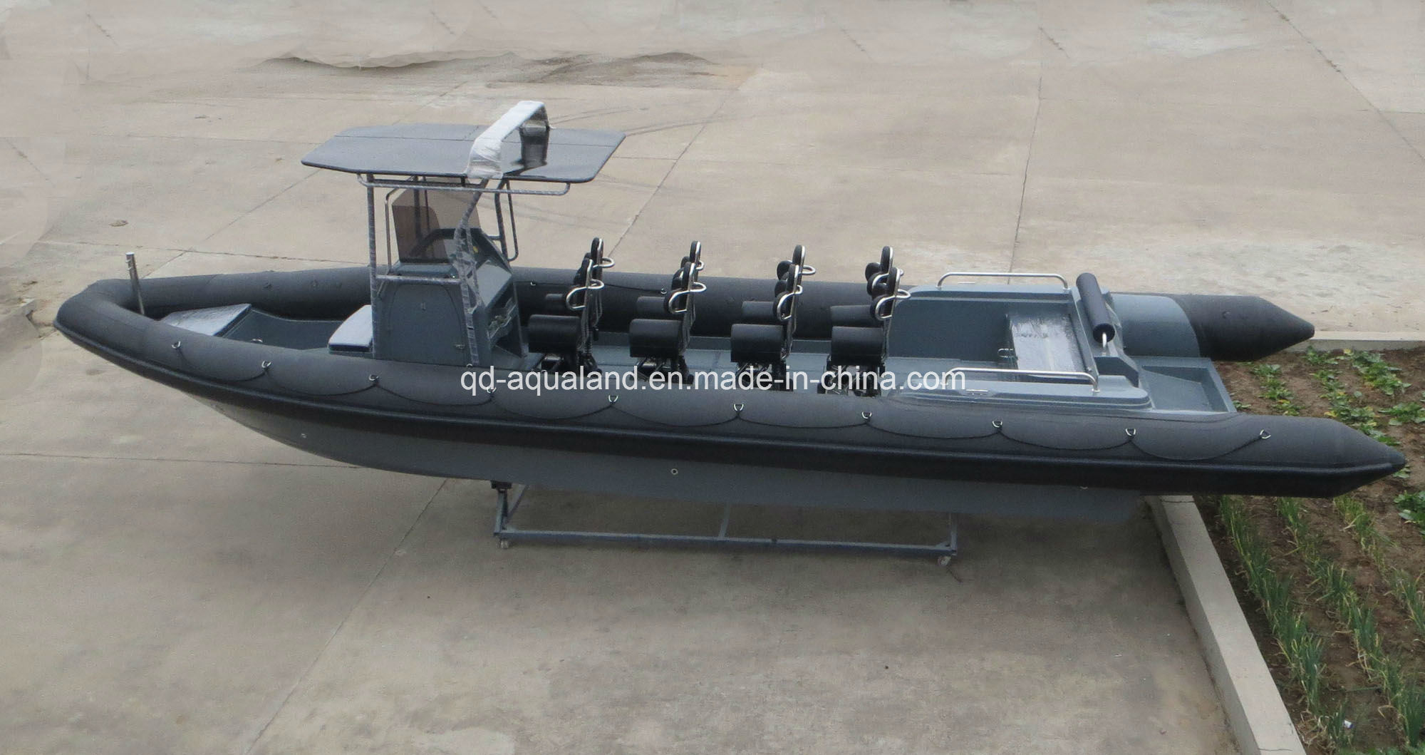 China Aqualand 36feet 11m Rigid Inflatable Motor Boat/Rib Patrol Boat/Rescue/Diving/Military Boat (RIB1050)