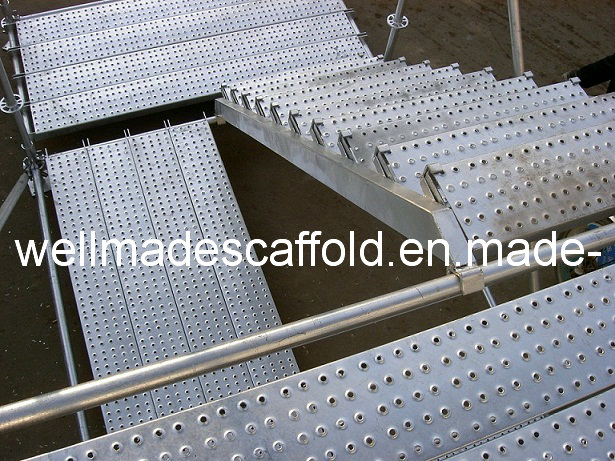 Steel plank scaffold scaffolding board metal deck