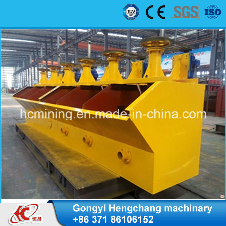 High Capacity Gold Ore Froth Flotation Machine