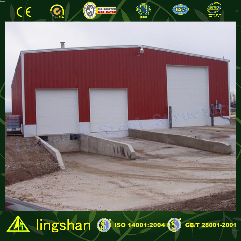 Lingshan Excellent Steel Structure Buildings with BV Certification (L-S-058)