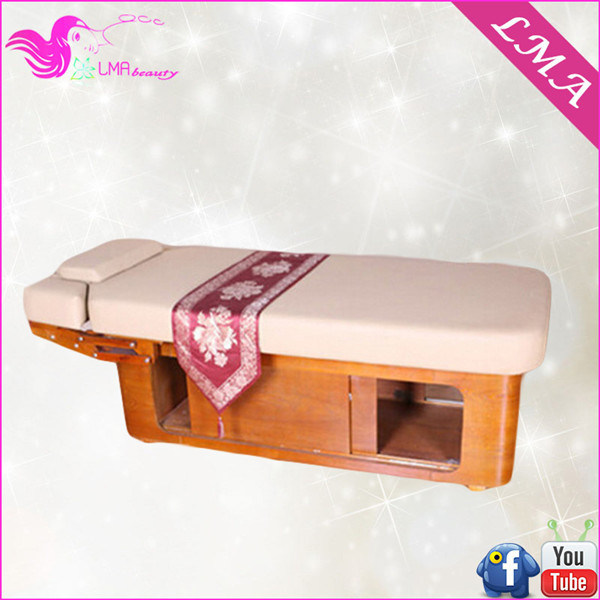 China beauty salon furniture luxury facial bed for beauty for Beauty salon bed