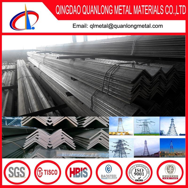 ASTM A36 S235jr Q235 Q345 Galvanized Angle Iron Prices