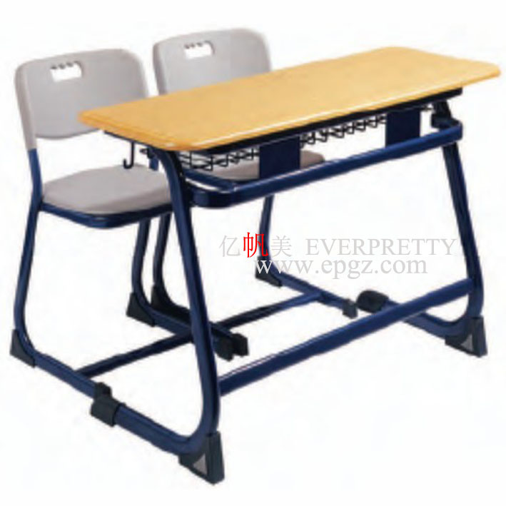 Moulded Board Table with PE Chair for High School Desk and Chair (SF-32D)