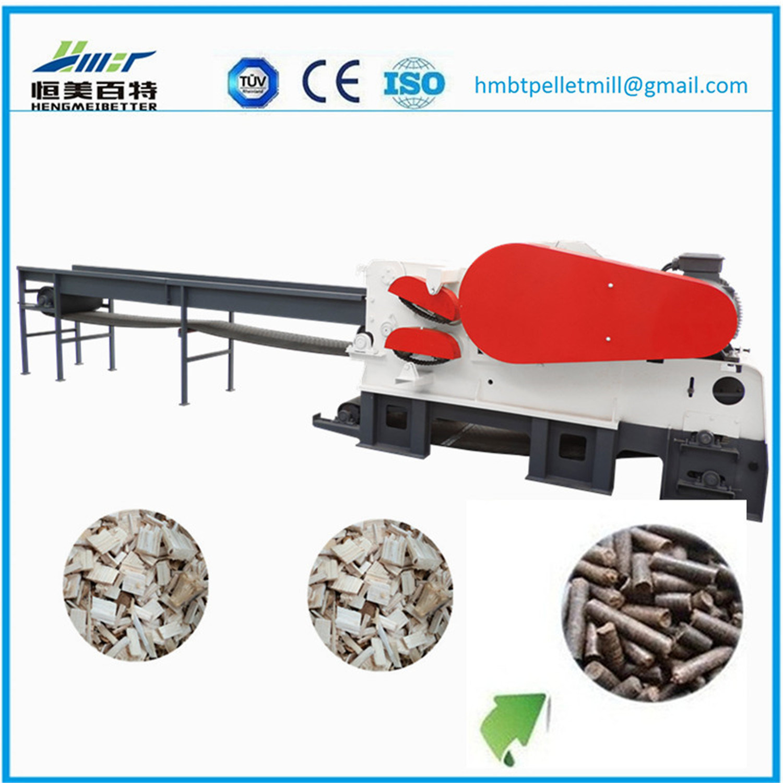 High Quality Wood Chipper Shredder Machine / Electric Wood Chipper Machine