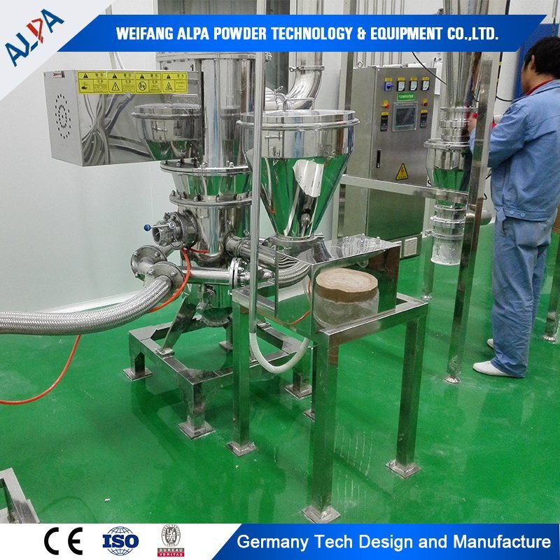 Talc Particle Size Reduction Machine Ultrafine Jet Mill