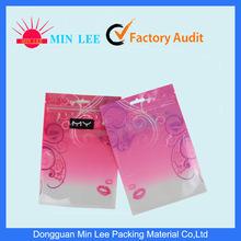 PE Printed Resealable Zipper Medical Plastic Packaging Bag (MD-Z-07)