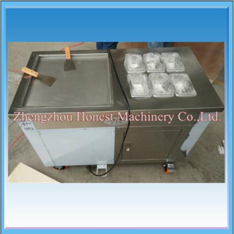 High Quality Fried Ice Cream Machine with Good Compressor