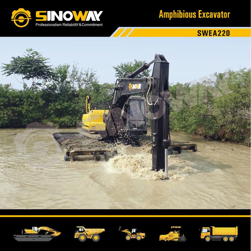 Swea220 Wetland Excavator