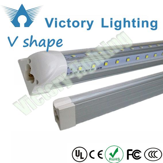 5FT 6FT V Shape Tubes T8 LED Freezer Light LED Cooler Light
