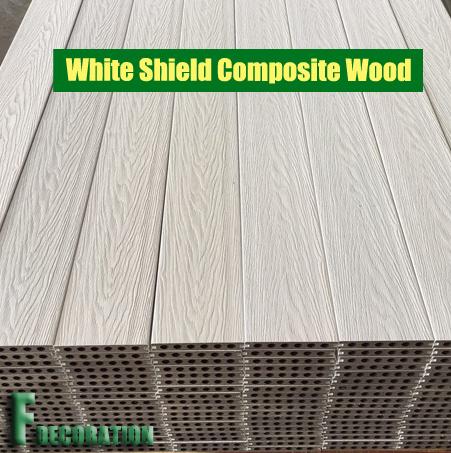 WPC Plastic Wood Eco Composite Decking Flooring