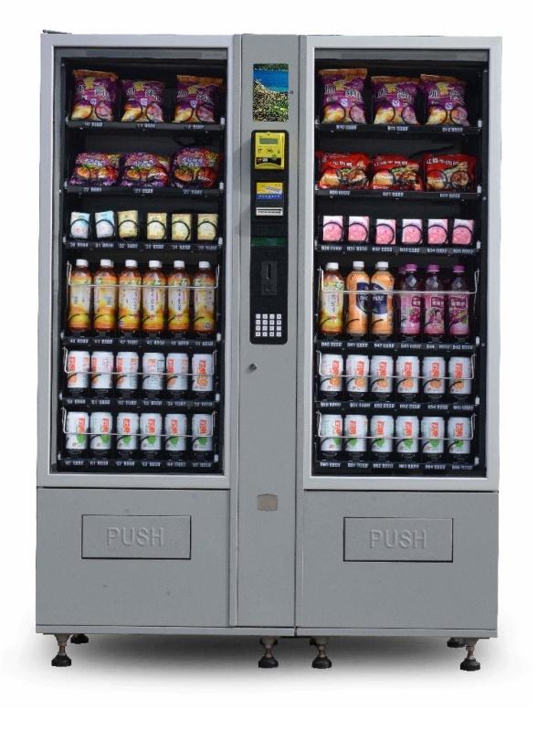 Cost-Effective Snack&Drink Combo Vending Machine (CV-0900D)