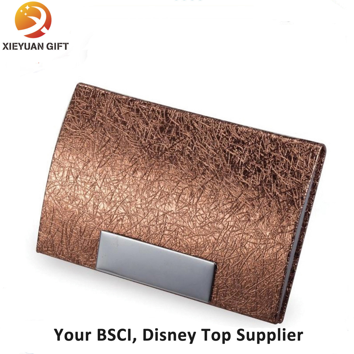 New Deiagn Leather Business Name Card Case