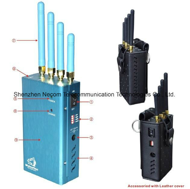 gps jammer j-220c - China Newest 5 Bands Mini Portable Cellphone Signal Jammer (CDMA/GSM/DCS/PHS/3G) Cellphone GPS Signal / Handheld Signal Jammer, Blocker - China Signal Jammer Blocker, Signal Jammer
