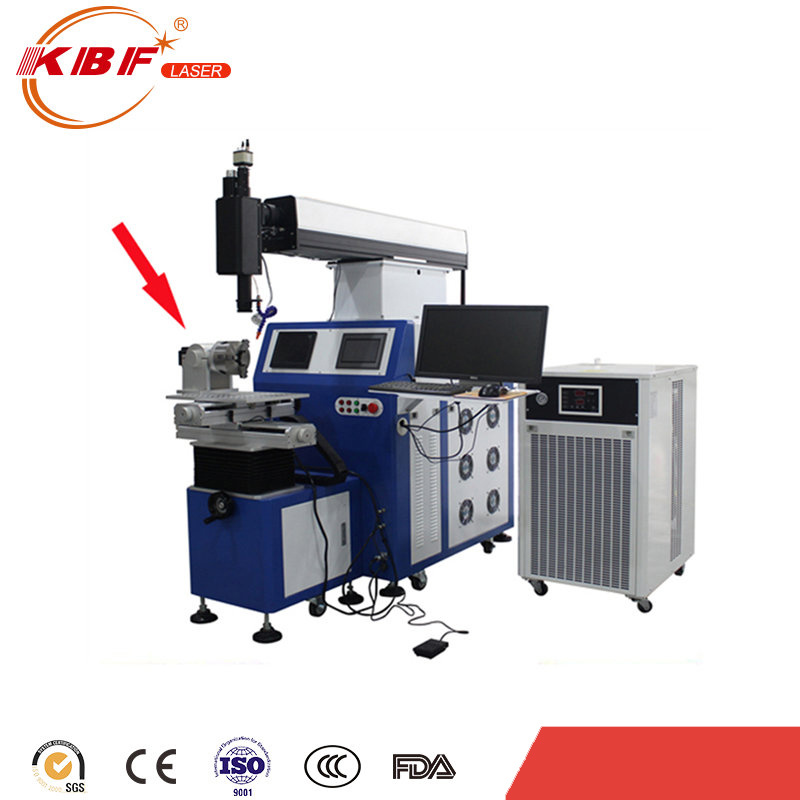 300W 4 Axis Metal Contious Wave/Cw Automatic Fiber Laser Welding Machine