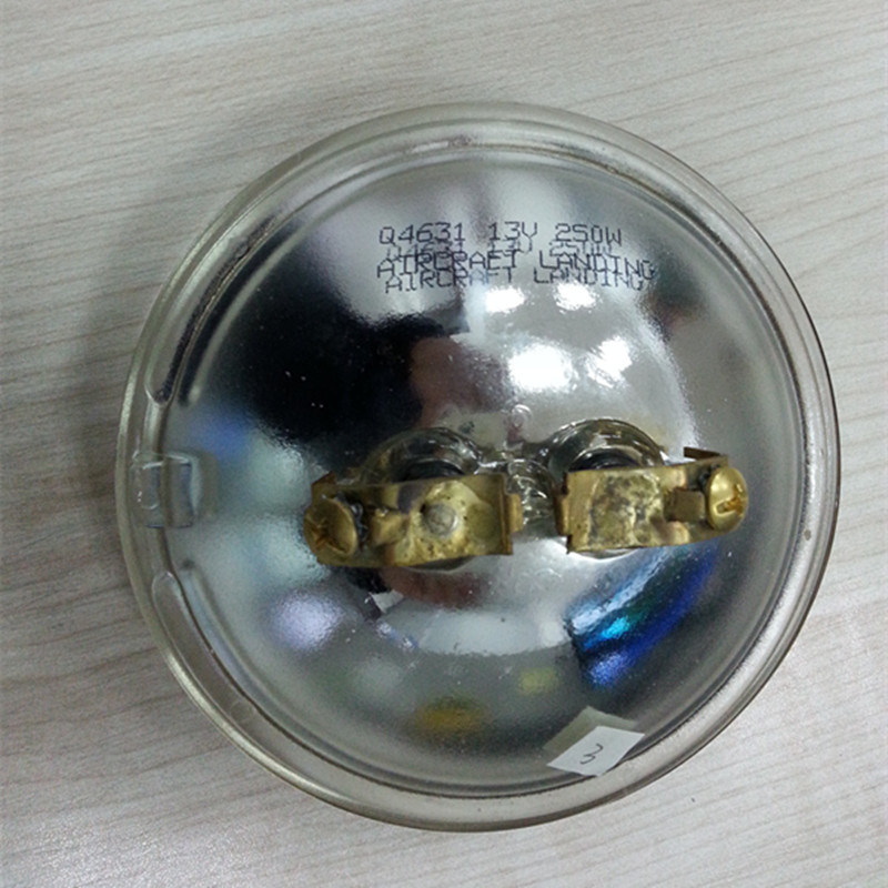 PAR36 Screw Teminal Warm Light Aircraft Halogen Lamp