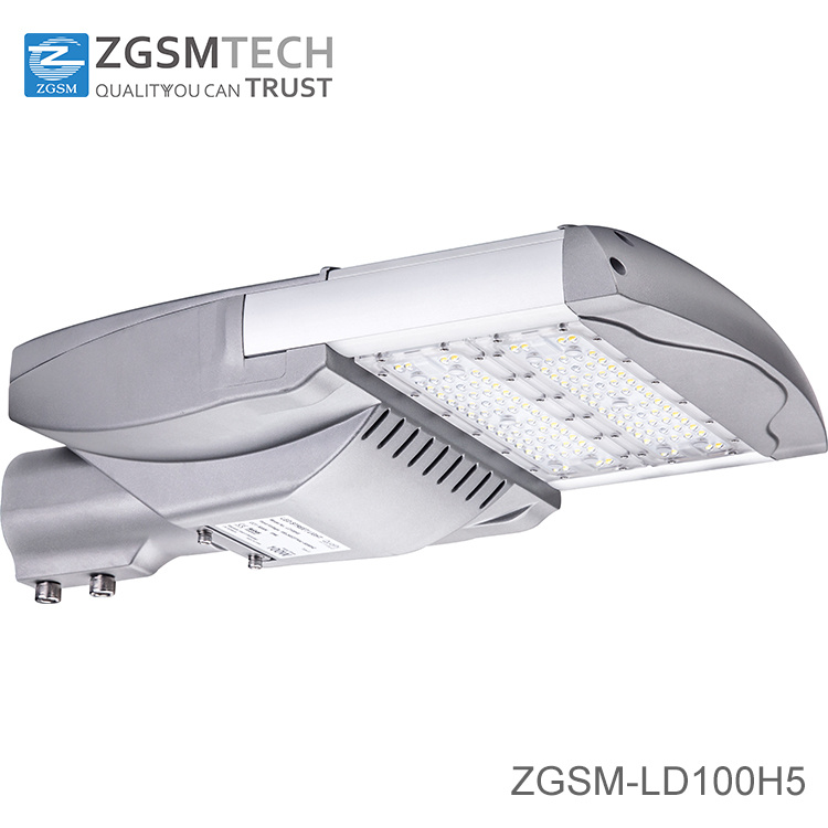 Philips or Bridgelux Chips 80W 100W 120W LED Street Light with 7 Years Warranty IP66 Ik10 Rating