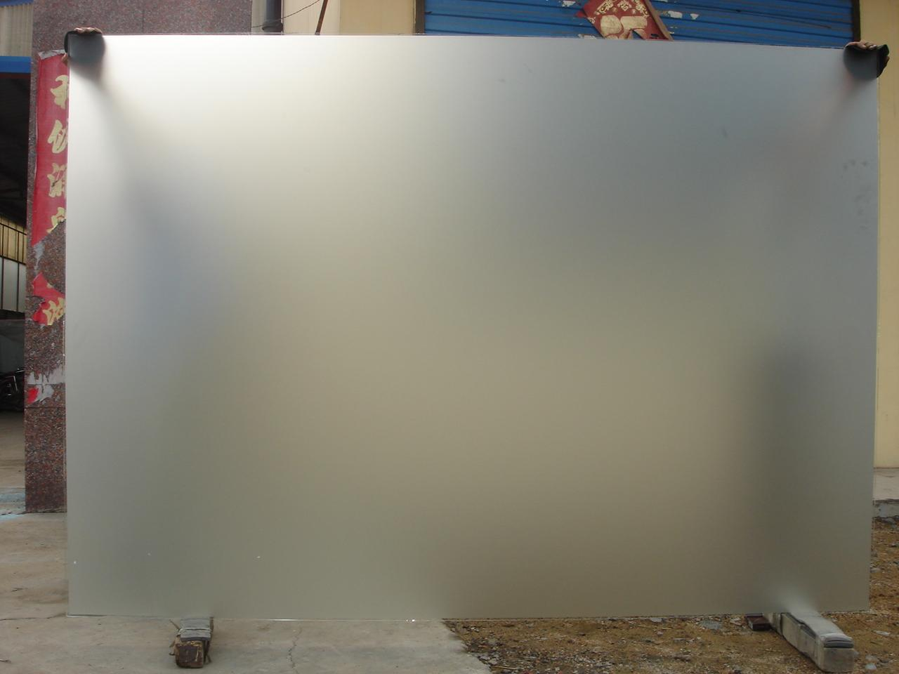 China Frosted Glass China Acid Etched Glass Acid Glass