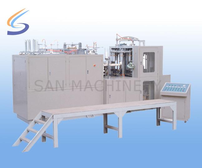 Production Line Ce Paper Barrel Paper Bowl Making Machine