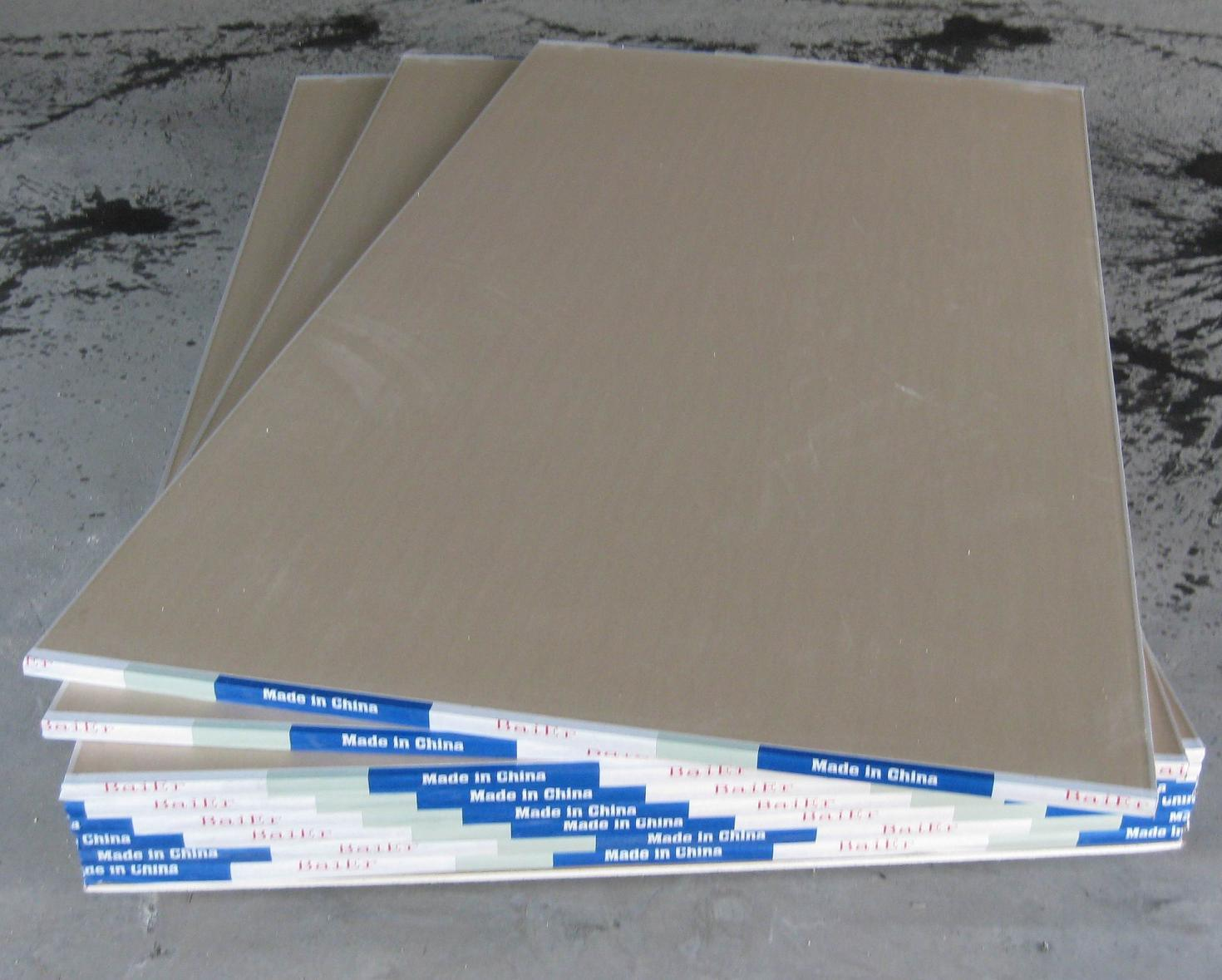 Gypsum board wall