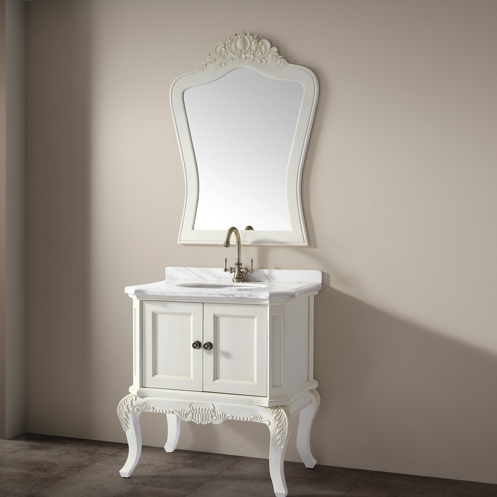 Manypics Pictures Solid Wood Bathroom Furniture Vanity