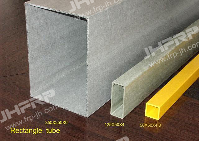 Fiberglass Rectangular Tube (JH-P201)