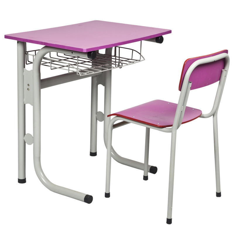 China Single Student Desk And Chair SF 49A 2 Photos