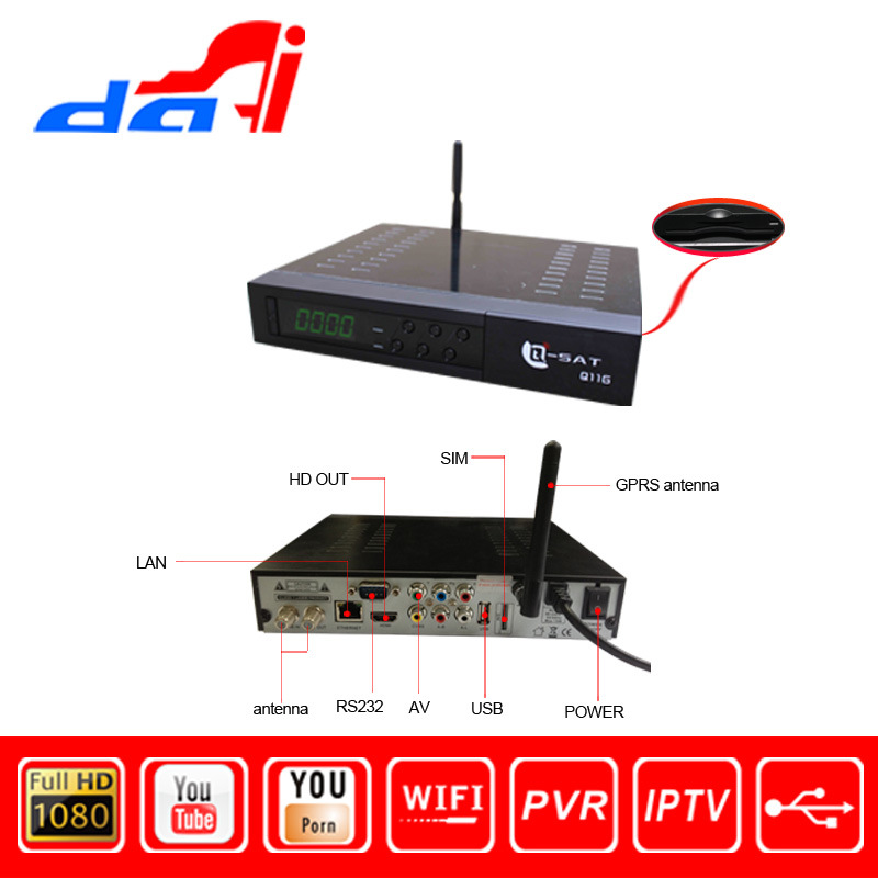 Recorder Receiver Satellite Q11g Satellite Receiver