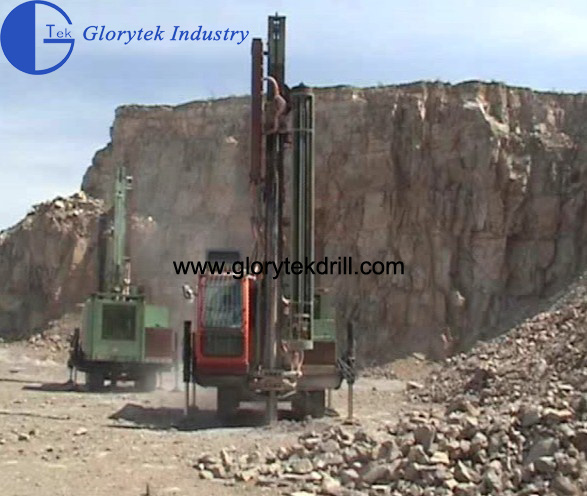 165 DTH Blasthole Drill Rig for Open Pit Mining