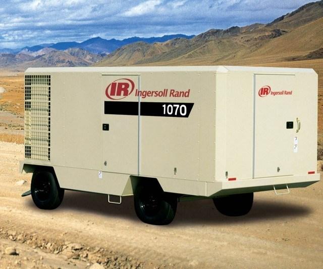 Xhp1070 Ingersoll Rand/Doosan Portable Screw Compressor, 1070cfm 350psig Ingersoll Ran (XHP1070WCAT)