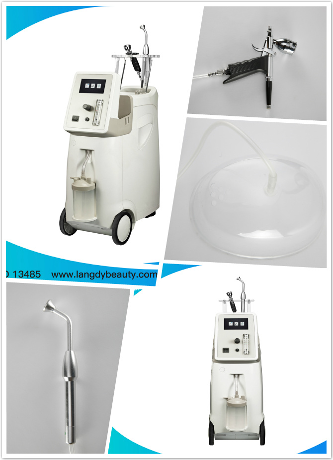 Oxygen Facial Jet Peel Water Skin Rejuvenation Machine Oxyge Thearpy