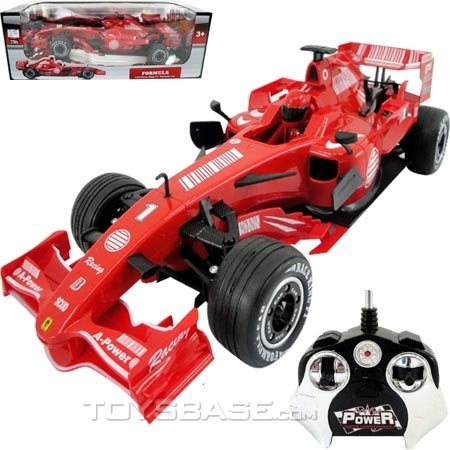 Auto Racing Equipment on 10 R C F1 Formula Racing Car With Music Charger   Battery   China R