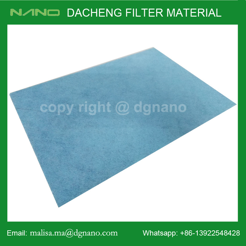 Cabin Filter Material Composited with Activated Carbon Non Woven