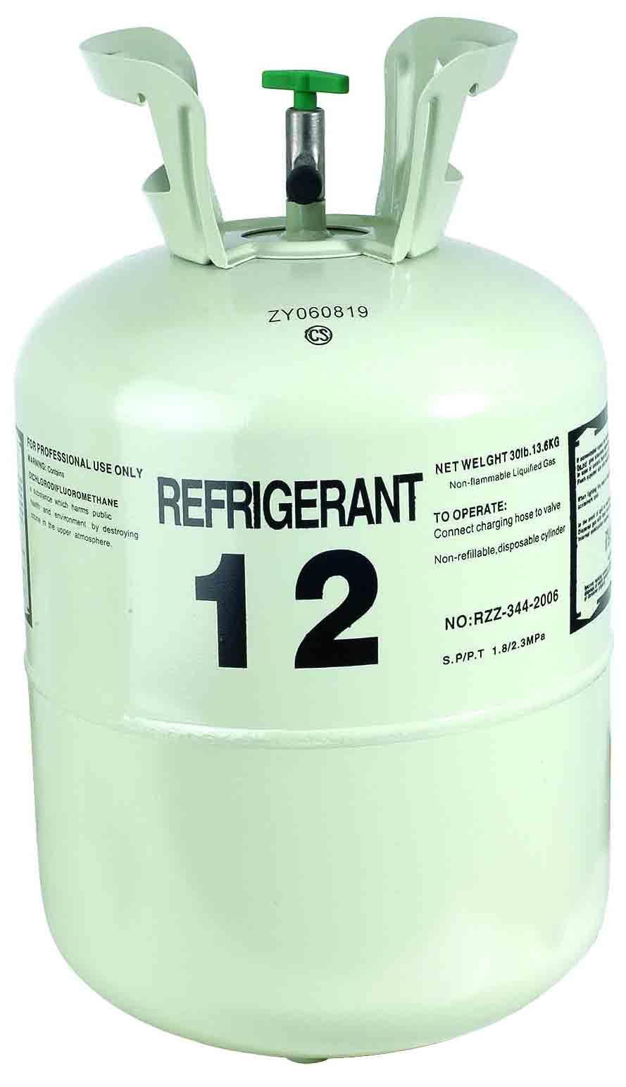 Refrigerated R12 Refrigerant