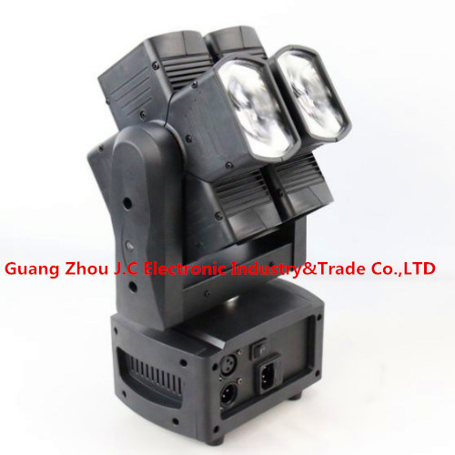 Newest 8PCS 10W RGBW 4in1 LED Hot Wheel Moving Head Light