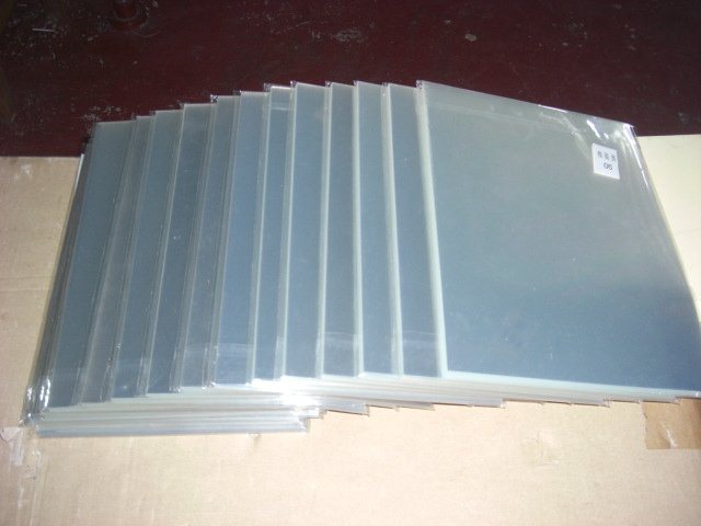China 100micron A3 A4 Clear Self Adhesive Transparent