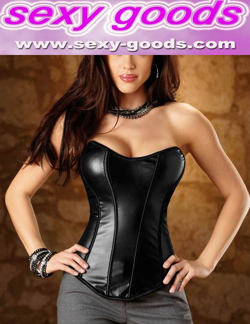 Sexy S2288 Leather Corset