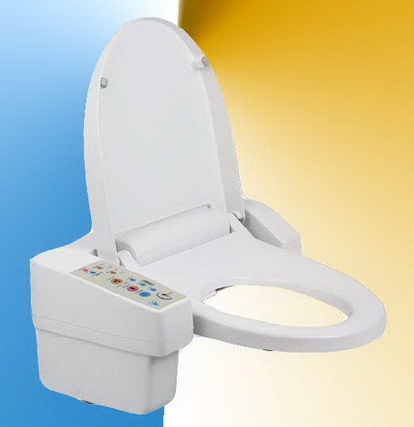 China automatic toilet seat zj 28a china toilet seat for Touchless toilet seat