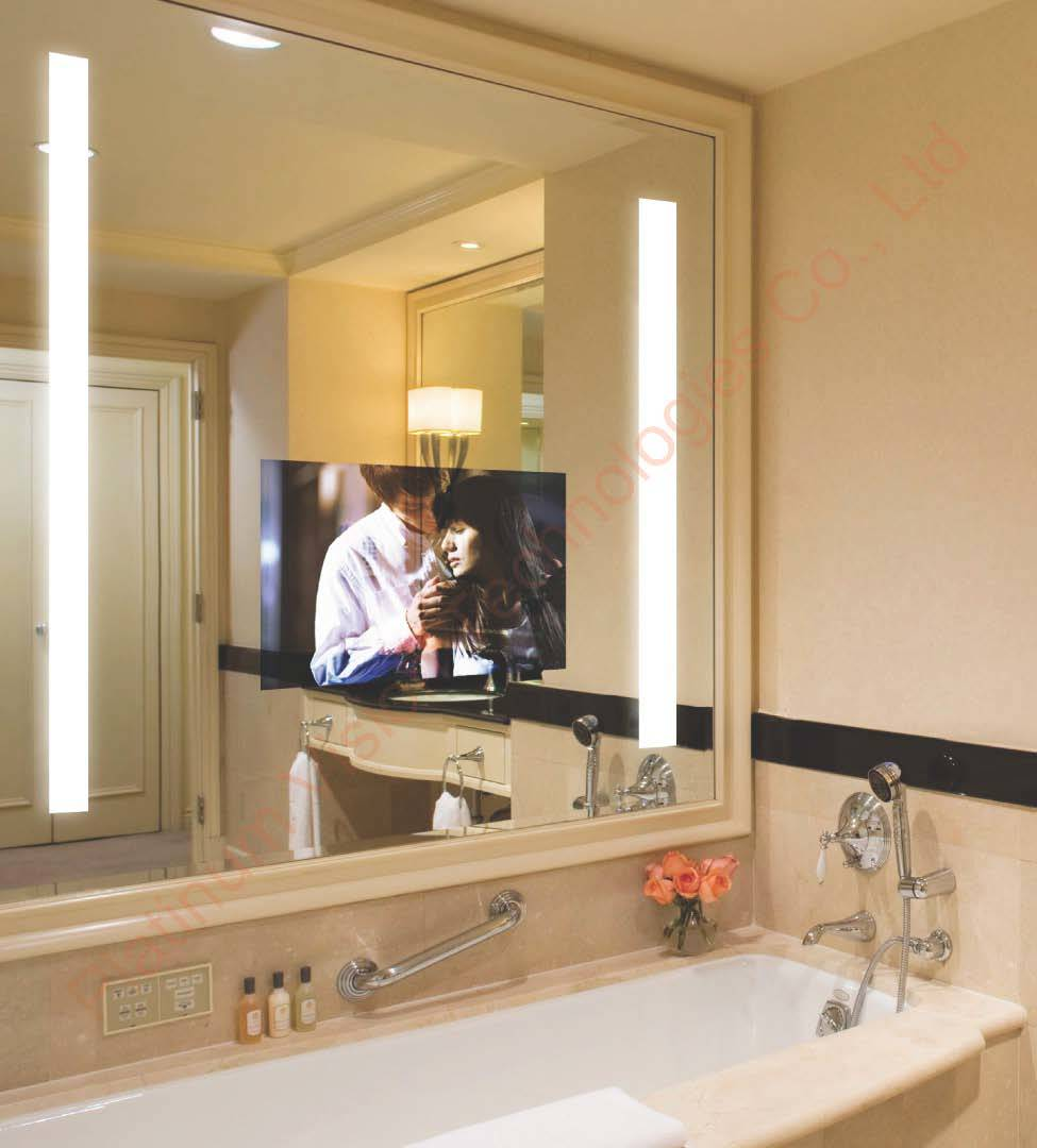 China hotel mirror tv china bathroom tv waterproof tv for Mirror hotel