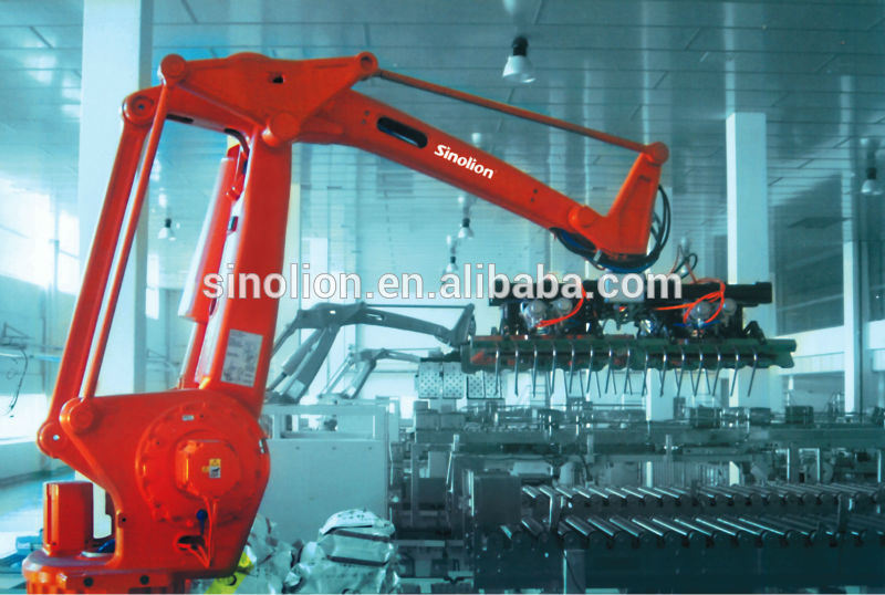 Robot Palletizer Packing System