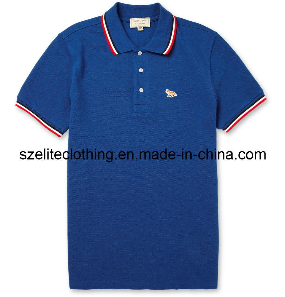 China white t shirt china blank t shirt white for Screen printing polo shirts